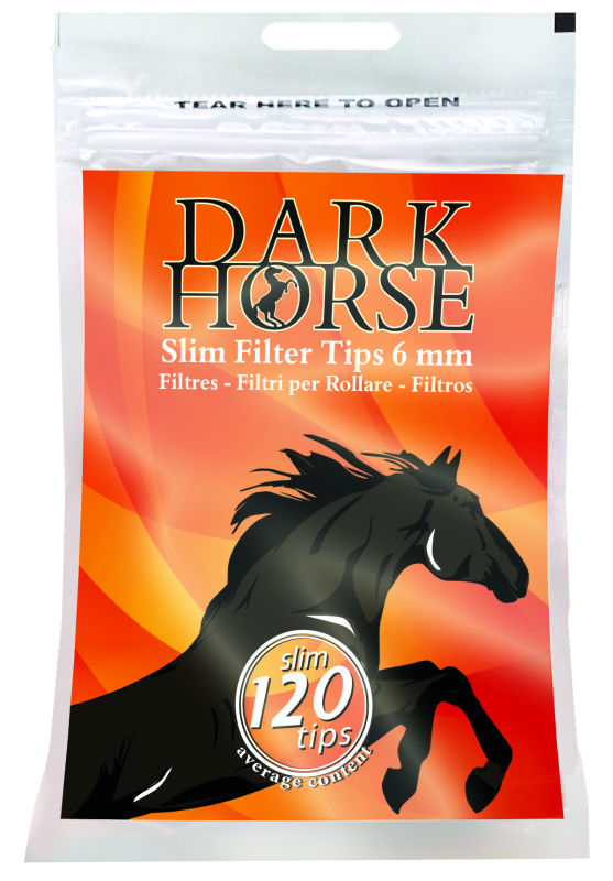 New Health Products Dark Horse 6mm Cigarette Filter Tip