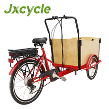 Factory hot sale JX-T05 classic three wheel cargo trike