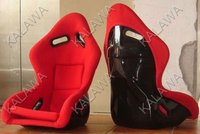 One lot/2pcs Bucket,inclusion feeling,FLANNELETTE red/black sports racing car seat MK04