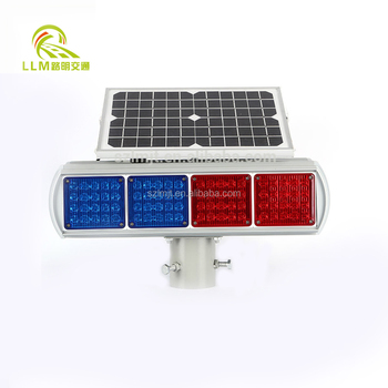 led traffic signal warning light, solar traffic light