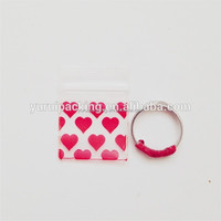 PE mini reclosable bag small plastic bag for jewelry