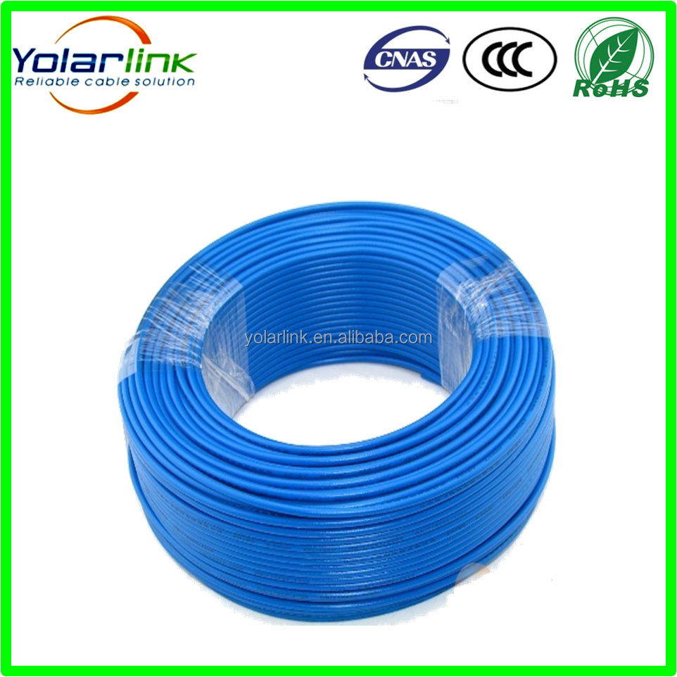 building electrical cable single strande copper electrical wire BV/BVR/RV/RVV electrical wires