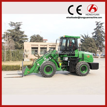 2 Tons Lifting Capacity telescopic wheel loader 2016/2 ton wheel loader