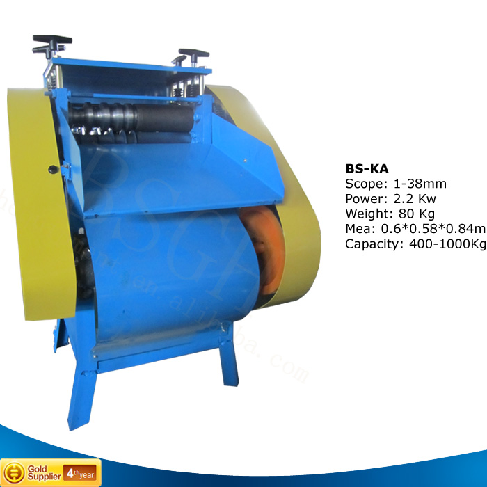BS-KA On Promotion!!! Edm Brass Wire Bull Automotive Wire Stripping Machine