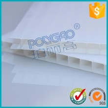lexan roofing material two layers pc polycarbonate sheet for rain door plastic cover for greenhouse