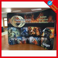 Custom design double printing Eco solvent showmax tabletop display