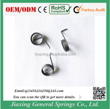 Adjustable Custom Steel 1.0mm Diameter Torsion Spring for Door Handle