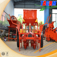 Double rows tractor cassava seeders/cassava planter/cassava planting machine for sale