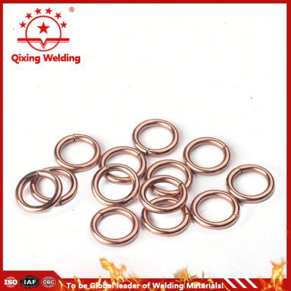 expansion length brazing welding ring in copper pipe
