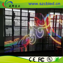 transparent oled screen ,led moving message display sign , indoor glass window high brightness led screen display