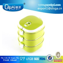 New design square stainless steel thermos food container/tiffin box