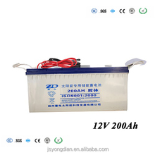 solar battery 1 gel 12v 200ah