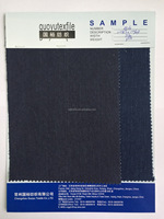 GuoYu indigo knitted denim wholesale fabric for garment industry