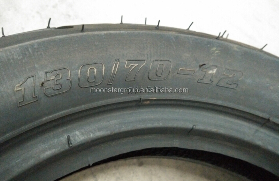 Good quality 130/70-12 China tube motorcycle tire manufacturers