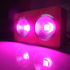6-band Integrated grow lighting lens 90 degree Red/dark Red/Blue/Orange/IR/UV 450W integrated grow lights