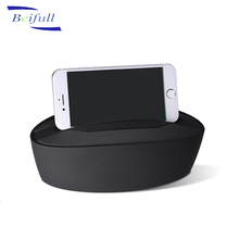 2017 New model V4.0 wireless sound bar speaker with FM phone stand power bank function