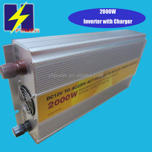 2KW industrial frequency power inverter 12v to 220v solar system and car battery