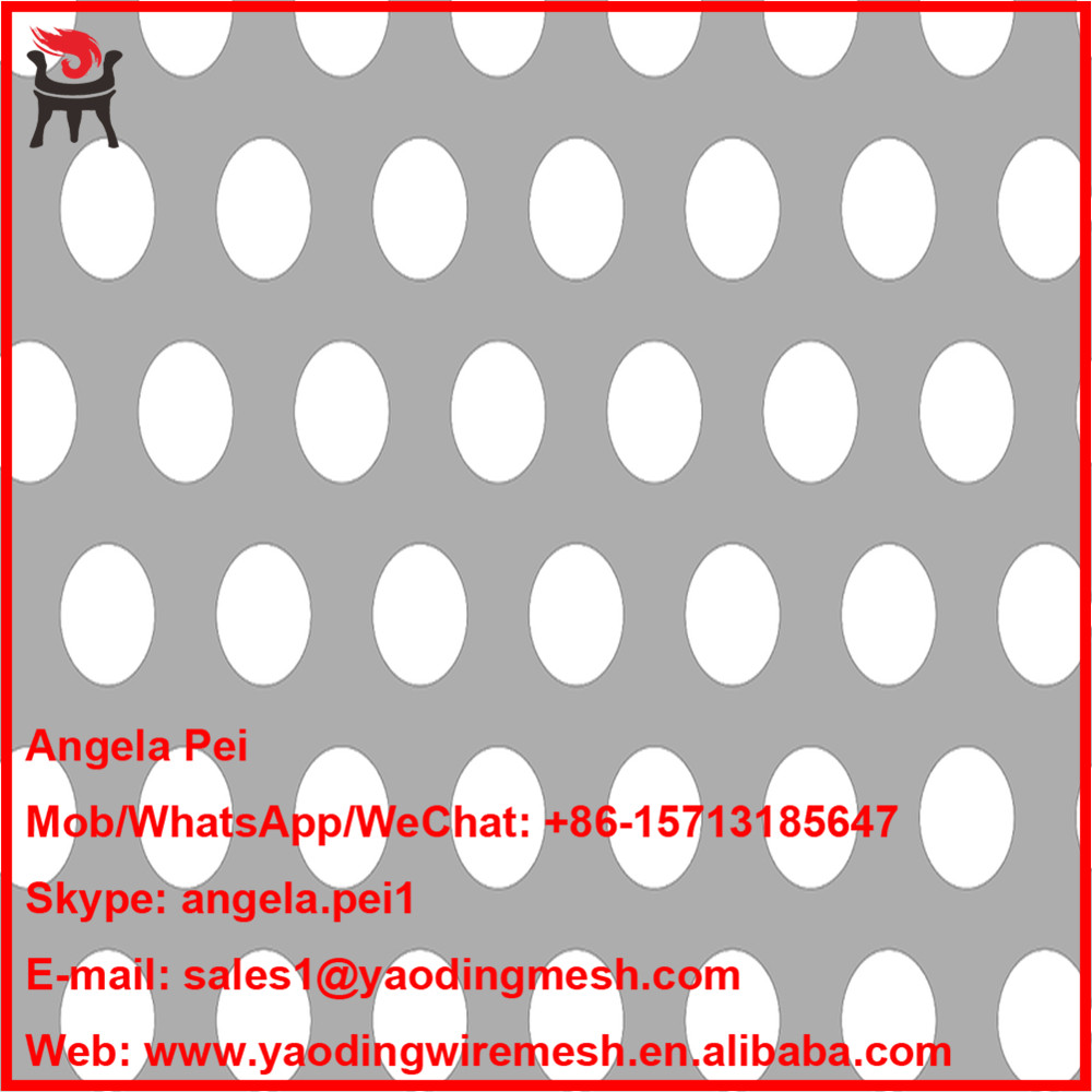 favorable food grade panel sus 304/316 stainless steel perforated metal mesh rolls with many stocks