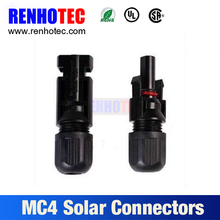 effective filed assembl MC4 solar panel connector male female wire connector