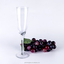 Machine made goblet wine glass/champagne flute glass/red wine glasses