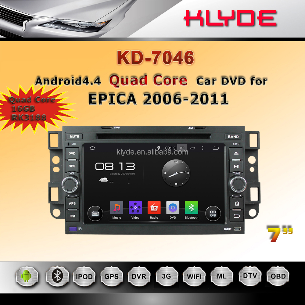 Klyde Android 5.1.1 Car radio 2din dvd player with navigation for Chevrolet EPICA/AVEO/LOVA/Capative/SPARK /OPTRA