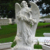 Outdoor religious antique cherub sculpture angel statues wholesale
