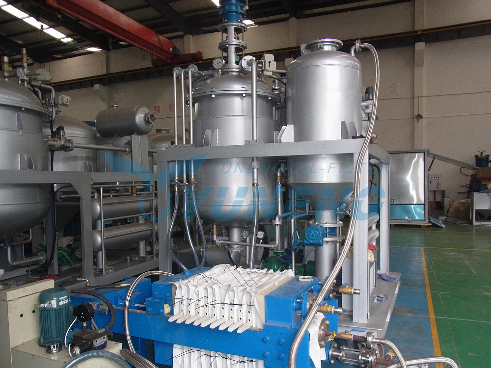 Advanced Technology Used Engine Oil Refining Machine