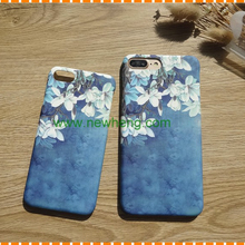 Newest Case Smarphone Oil Painting PC Mobile Phone Cover For Iphone 7