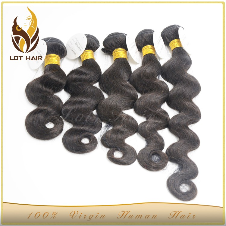 High quality grade 7a unprocessed cheap russian virgin ombre hair extension