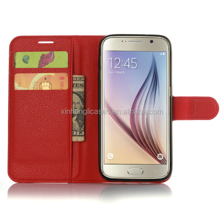 Wholesale china factory embossed wallet leather phone case, protective sleeve