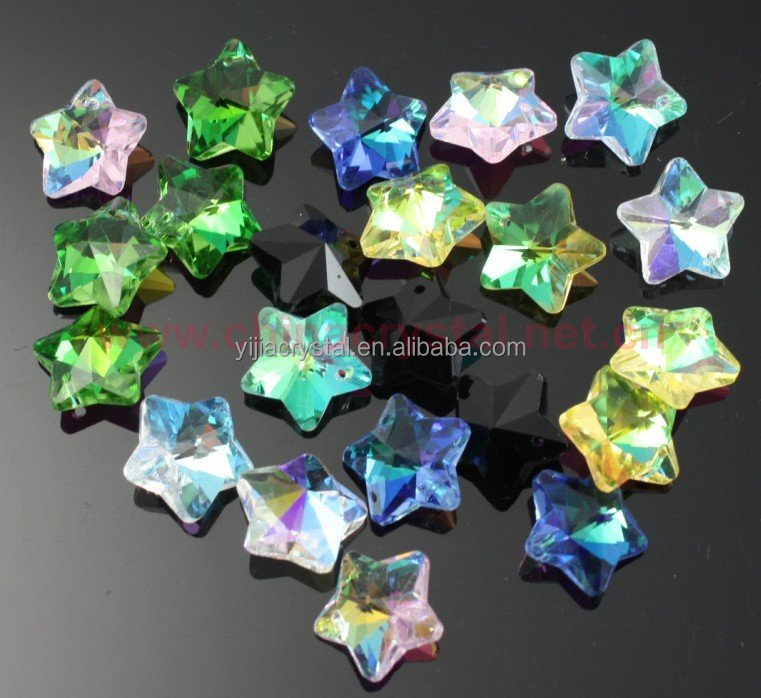 five star crystal beads