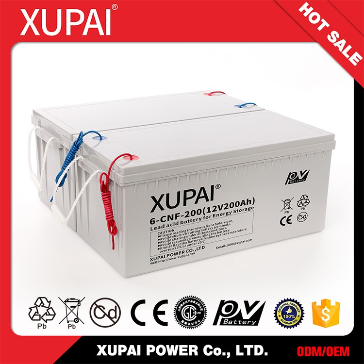 High Precision Sealed Rechargeable Lead-Acid Storage Battery , Iso9001 Battery