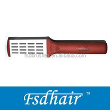 Professional straightening hair brush