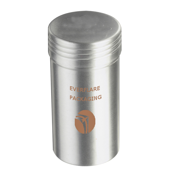 Tennis ball packaging large volume aluminum tins cans