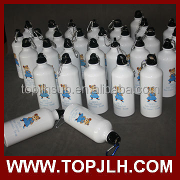 Personalised sports water bottles sublimation sports bottle