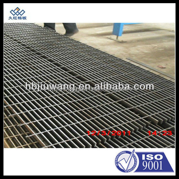 black welded ms steel grating/non-galvanizing welded steel grating