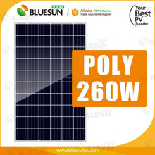China high quality cheap polycrystalline photovoltaic panel 260w solar pv system
