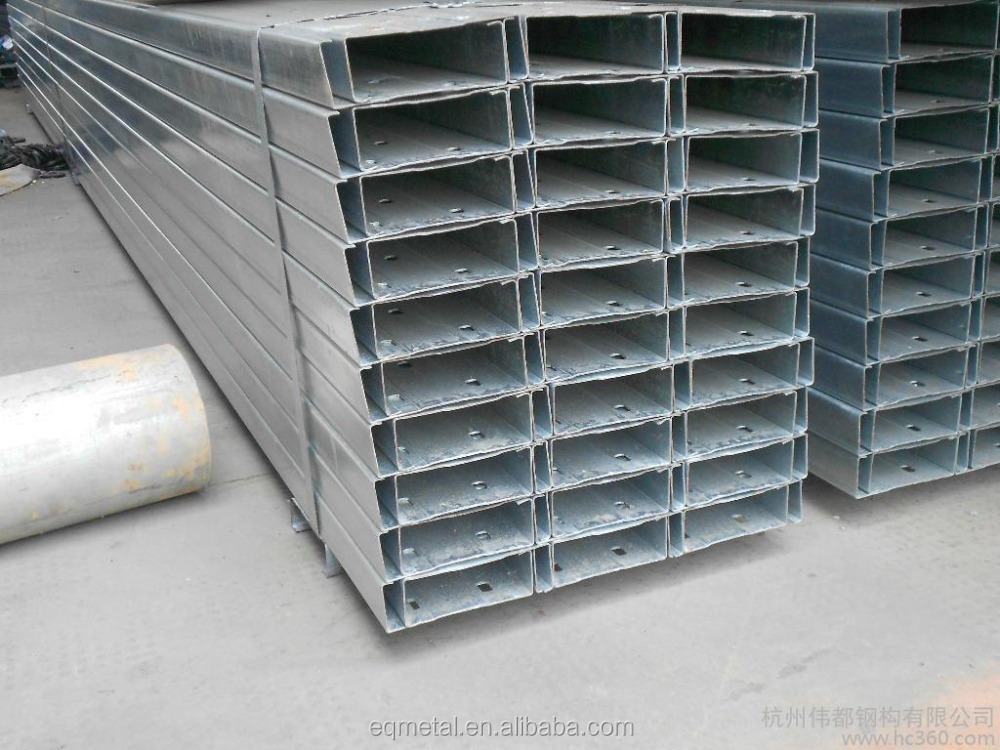 S235JR/S235JRG1 hot dipped galvanized c channel standard sizes
