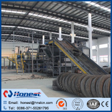 Patented products! used truck tyre changer/ waste tire recycling machine manufacturer price for wholesales