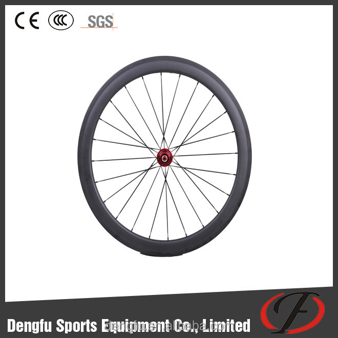 U shape 38/50/60/88mm carbon clincher /tubular wheels 700c road bike carbon wheelset clincher 50mm