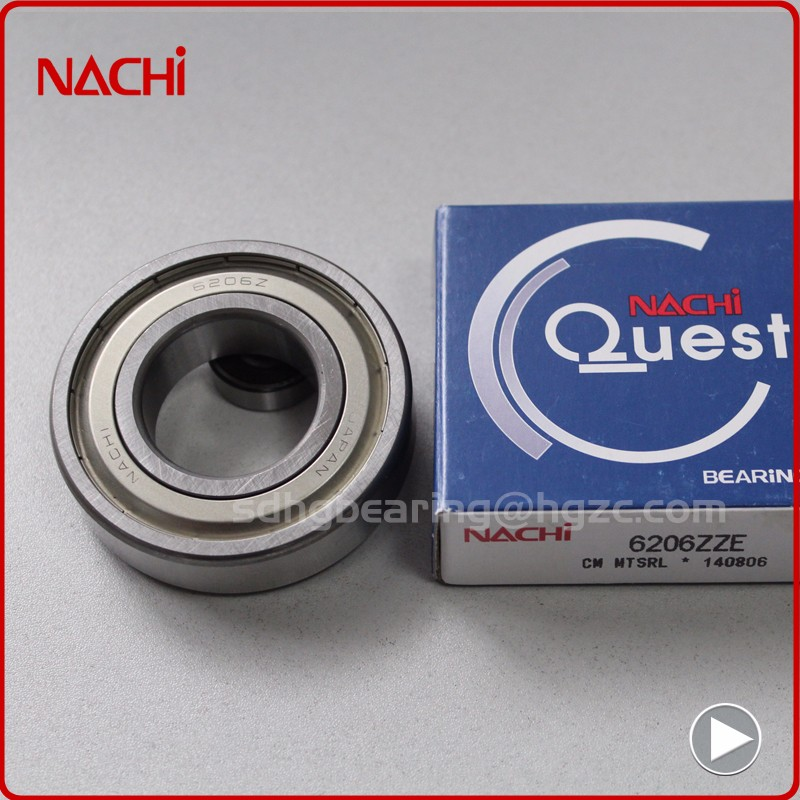 Nachi steel ball bearing price list 6314N 6314NR 6314ZENR 70x150x35mm