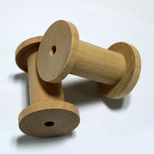 High Quality Natural Handmade Custom Wooden Spools