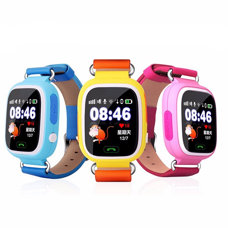 Factory Wifi Wholesale Silicone Baby Smart Watch
