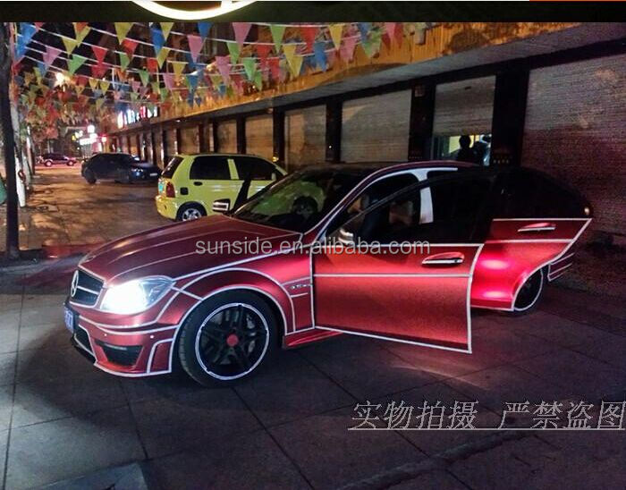 2014 New Style Customized Nontoxic Removable Vinyl Car Sticker,glow in dark car sticker