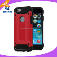 New arrival shockproof dual heavy duty protective phone cover hybrid armor case for iPhone 6 6s
