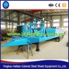 Popular hot sell arch type roll forming machine for roof arch steel small plate bending machine