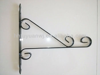Wall-Mounted Flower Hanging Bracket