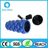 2016 new chargeable yoga and pilate vibrating massage Roller for muscle therapy