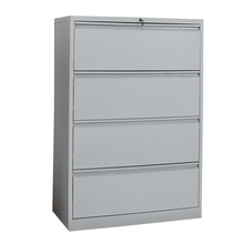 cheap Luoyang lateral metal filing 4 drawer cabinet