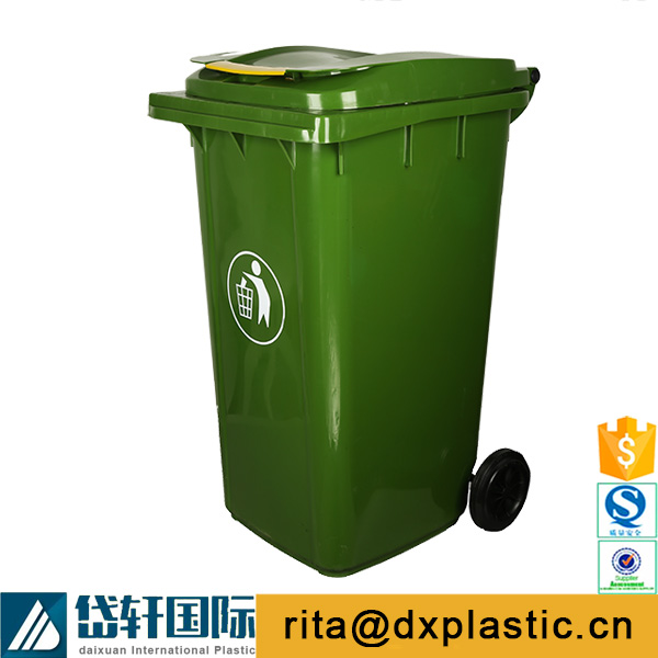 big size plastic dustbin for street and garden